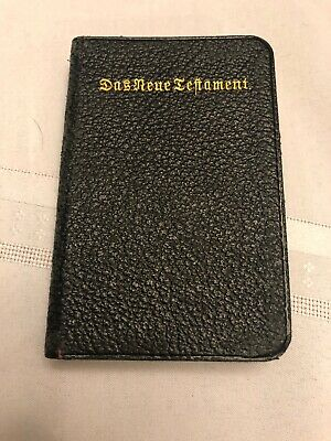 Vintage Antique Holy Bible 1908 New Testament German Print