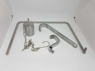 V  MULLER RETRACTOR Orthopedic Surgical Instrument 7'' x 7