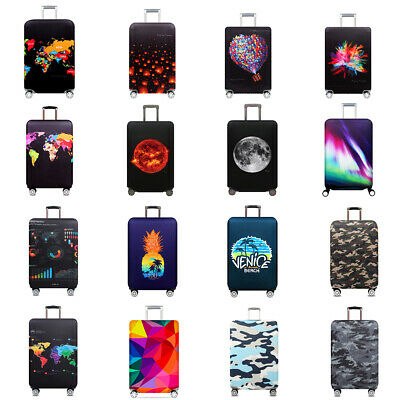 """18"""" - 32"""" Elastic Travel Luggage Cover Anti-scratch Suitcase Cover Protector Bag"""