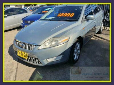 2007 Ford Mondeo MA TDCi Grey Automatic 6sp A Hatchback
