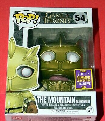 New ~ Funko Pop ~ THE MOUNTAIN Armored ~ Game of Thrones ~ SDCC 2017 Exclusive