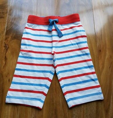 Mini Boden Girls Cropped Sweatpants Stripes. Size 3 years. Brand new. G0553