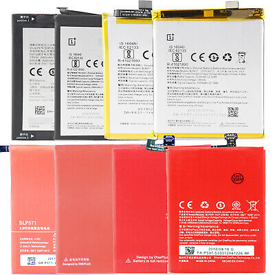 For OnePlus 1 2 3 3T 5 5T 6 X New Original Internal Li-ion Battery Replacement