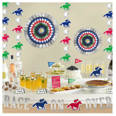 Ky Kentucky Derby Party Welcome Race Fans Door Hanging Decorations