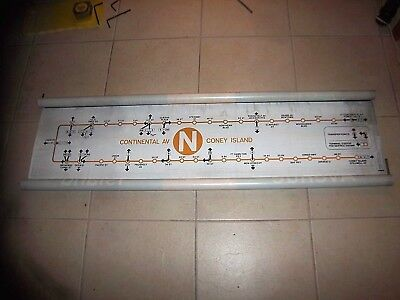 Nyc Subway Map N Line.Nyc Subway Sign Ny Roll Sign Times Square Coney Island Brighton