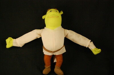 "Shrek Forever After Brown Tan Green Ogre Dreamworks Movie Plush 9"" Fly Toy Lovey"
