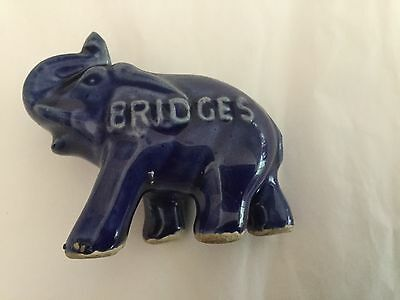 Vintage GOP Ceramic Elephant Bridges Former New Hampshire Governor
