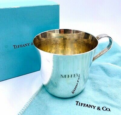 Tiffany and Company Makers Baby Cup Sterling Silver 23498