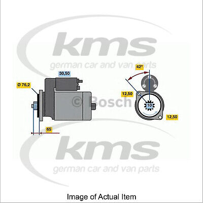 £45 Cashback New Genuine BOSCH Starter Motor 0 986 020 260 Top German Quality