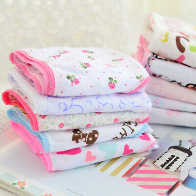 6pcs Briefs Baby Kids Girls Underpants Soft Panties Child Underwear Short Full