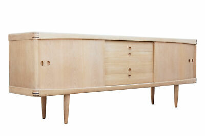Mid 20Th Century Danish Oak Sideboard By Henry W Klein For Bramin