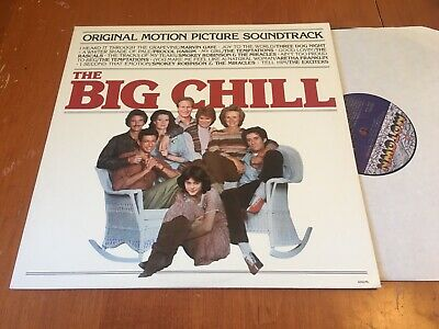 The Big Chill OST Soundtrack LP Motown 1st press Soul M-