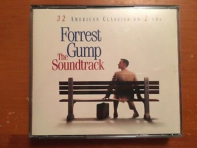 Forrest Gump OST The Soundtrack 2 X CD Album 1994 epic playgraded fatbox