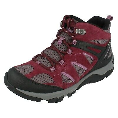 FEMMES MERRELL OUTMOST mi Ventilations Cheville Chaussures