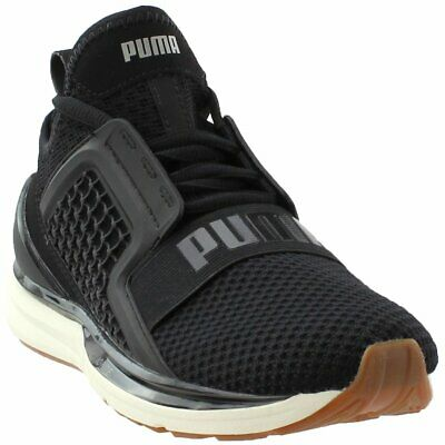 buy popular 76bef e24a8 PUMA IGNITE LIMITLESS Weave Running Shoes - Black - Womens