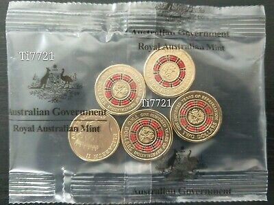 One MINT Sachet/Bag of 5× 2019 $2 Repatriation Coin. UNCIRCULATED