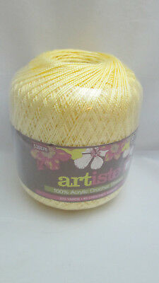 Artiste Acrylic Crochet Thread New Various Colors 550 Picclick