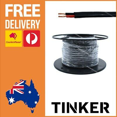 2mm Twin Core Wire 30m Roll 8 Amp Sheathed Automotive RV Twin Cable Aussie Made