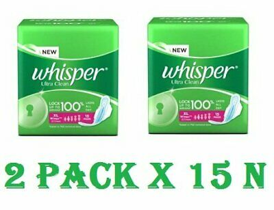 45fe2a2a162d WHISPER CHOICE EXTRA Long Sanitary Pads Super Saver Pack-7 Count ...