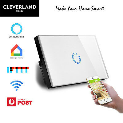 AU Smart Home WiFi touch wall Switch for downlight Light  APP Alexa Google home