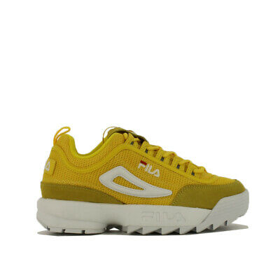 Fila Disruptor Mesh Low Wmn Sneaker Donna 1010606 60K Empire Yellow