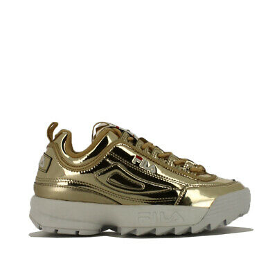Fila Disruptor M Low Wmn Sneaker Donna 1010608 80C Gold