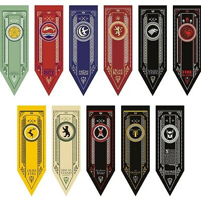 """Game of Thrones House Sigil Tournament Wall Banner (19"""" by 60"""")"""