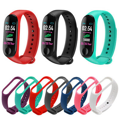 Silicone Watch Band Bracelet Wrist Strap Replacement for M3 Smart Watch Silicone