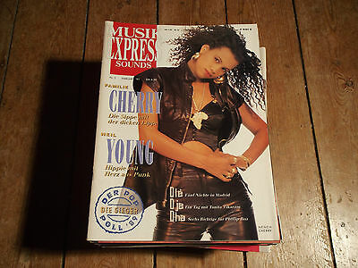 Musik Express Sounds 2 Feb 1990 - Neneh Cherry / Neil Young / Phillip Boa