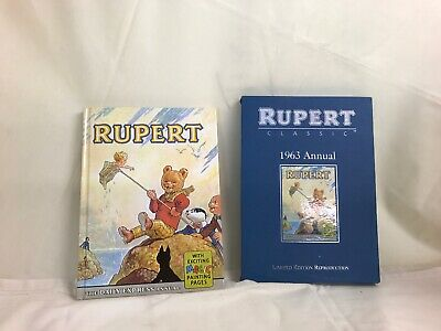 Rupert Bear Classic 1963 Annual by Limited Edition Reproductions
