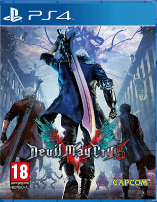 Devil May Cry 5 (PS4)  BRAND NEW AND SEALED - IN STOCK - QUICK DISPATCH