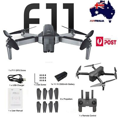 NEW SJRC F11 GPS 5G WiFi FPV 1080P HD Cam Foldable Brushless RC Drone Quadcopter