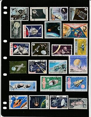 SPACE Thematic STAMP Collection USED Our Ref:TT8