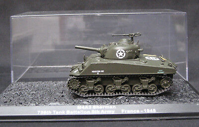 M4 A3 Sherman 756Th Tank Bat 5Th Army Us Army France 1945 Tanks Altaya 1:72