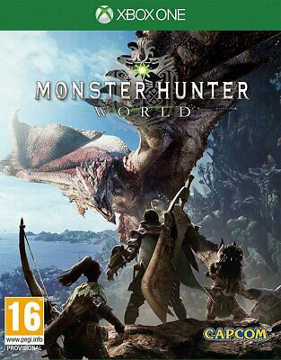 Monster Hunter: World (Xbox One)  BRAND NEW AND SEALED - QUICK DISPATCH
