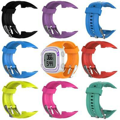 Replacement Silicone Wristband Watch Band Strap for Garmin Forerunner 10 15 S/L