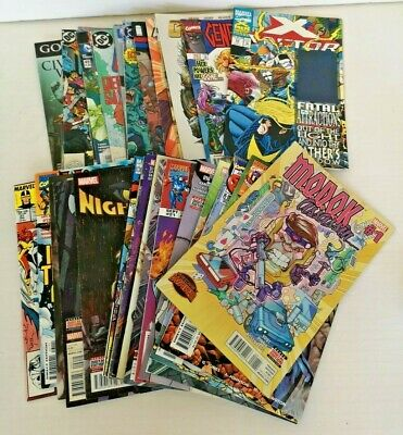 Job Lot Collection 37 Comics MARVEL DC + Others - Various Characters - 1988-2017