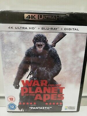 War For The Planet Of The Apes 4K Ultra Hd Bluray