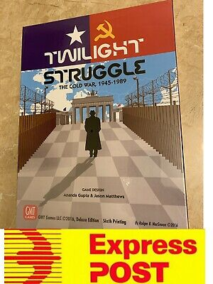 New Board Game: Twilight Struggle, Deluxe Edition, Mel Stock, Express Post