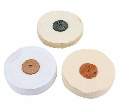 "6"" 150mm Bench Grinder 230v And Full General Purpose Metal Polishing Kit 8pc K"