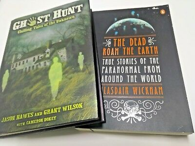 Paranormal Ghost books Occult Metaphysical The Dead Roam The Earth
