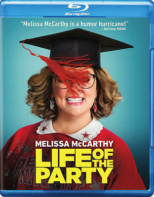 Life Of The Party (Blu-Ray / DVD / Digital) NEW