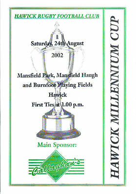 2002 Hawick Millennium Cup Xv-A-Side Tournament