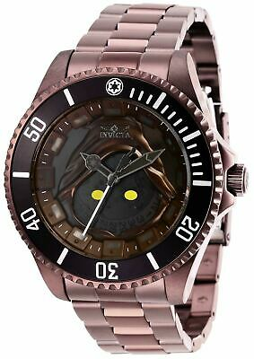 Invicta Star Wars Jawa Mens Pro Diver Limited Edition Automatic Watch RARE 27429