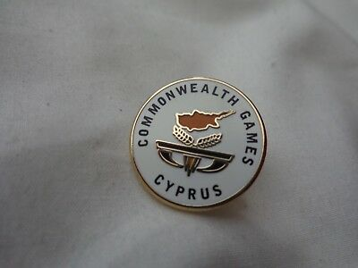 Australia Gold Coast 2018 Commonwealth Games - Cyprus Team Pin Badge
