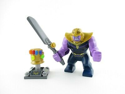 LEGO Infinity War/End Game Thanos Big-Fig w/ Infinity Gauntlet COMP.