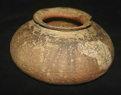 AMAZING!   ANCIENT PAINTED BOWL JUG! FROM EARLY BRONZE AGE! 3000BC~~~no reserve
