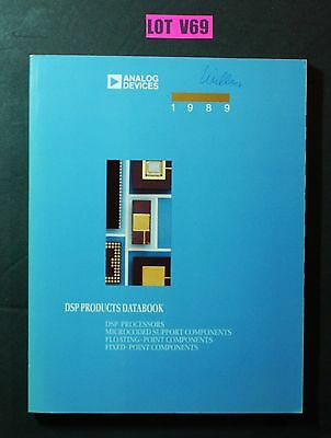 Analog Devices DSP Products Databook 1989 ELECTRONICS DIY DATA BOOK LOT V69