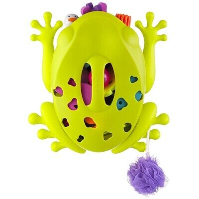 Boon Green Frog Pod Bath Toy Storage - New B10087 Wall Mounted Base Mounting