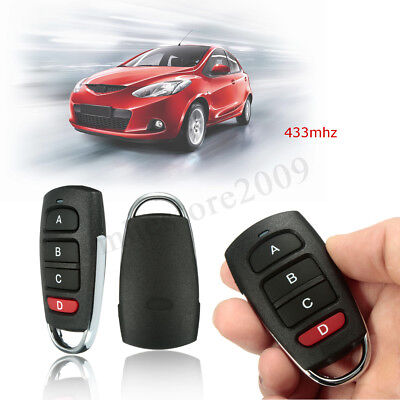 Universal Electric 4Button Gate Garage Door Opener Remote Control 433mhz   HOT